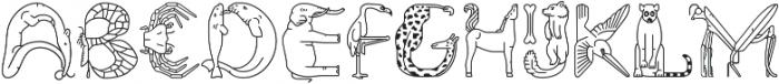 Fabel Line otf (400) Font UPPERCASE