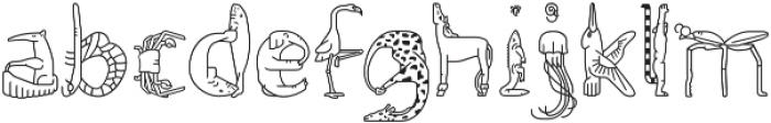 Fabel Line otf (400) Font LOWERCASE