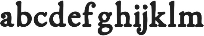 Fabello Black otf (900) Font LOWERCASE