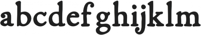 Fabello Bold otf (700) Font LOWERCASE