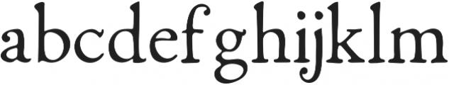 Fabello Light otf (300) Font LOWERCASE
