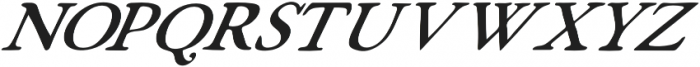 Fabello Thin Italic otf (100) Font UPPERCASE
