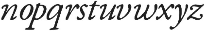 Fabello Thin Italic otf (100) Font LOWERCASE