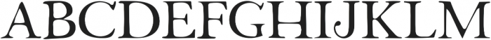 Fabello Thin otf (100) Font UPPERCASE