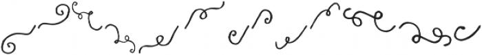 Fabulous Script Extra otf (400) Font LOWERCASE
