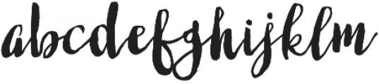 Fabulous Script Regular otf (400) Font LOWERCASE