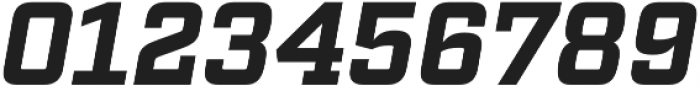 Factoria Bold Italic otf (700) Font OTHER CHARS