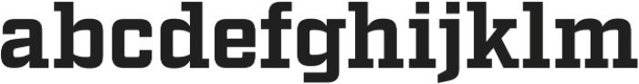Factoria Bold otf (700) Font LOWERCASE