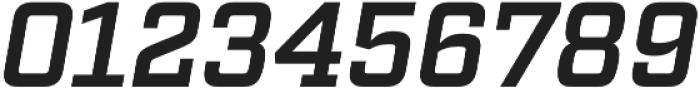 Factoria Demi Italic otf (400) Font OTHER CHARS