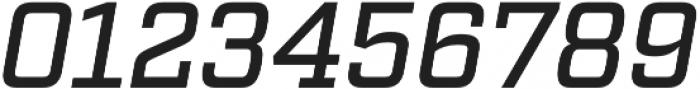 Factoria Medium Italic otf (500) Font OTHER CHARS