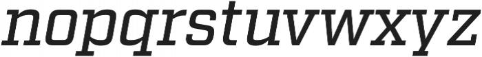 Factoria Medium Italic otf (500) Font LOWERCASE