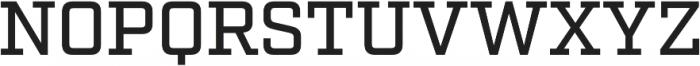 Factoria Medium otf (500) Font UPPERCASE