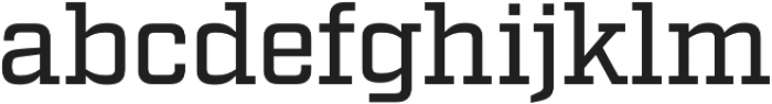 Factoria Medium otf (500) Font LOWERCASE