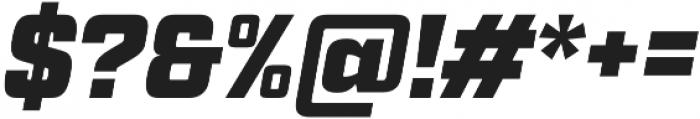Factoria Ultra Italic otf (900) Font OTHER CHARS
