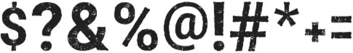 Faddox otf (400) Font OTHER CHARS