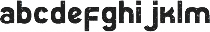 Faddox otf (400) Font LOWERCASE