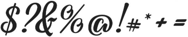 Fadilla otf (400) Font OTHER CHARS