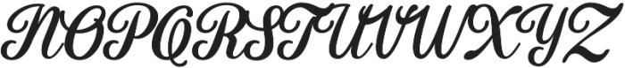 Fadilla otf (400) Font UPPERCASE