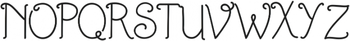 Fairelyn ttf (400) Font UPPERCASE