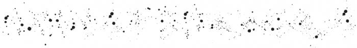 Fairing Splatters otf (400) Font UPPERCASE