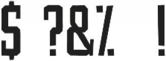 Fairtrade Espresso otf (400) Font OTHER CHARS