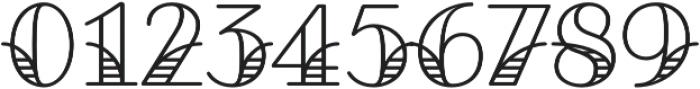 Fairwater Deco Serif otf (400) Font OTHER CHARS