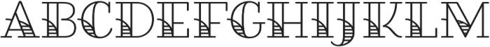 Fairwater Deco Serif otf (400) Font UPPERCASE