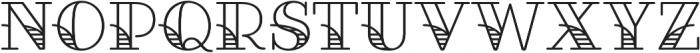 Fairwater Deco Serif otf (400) Font LOWERCASE