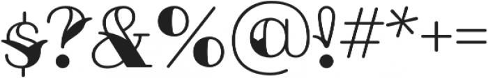 Fairwater Sailor Serif otf (400) Font OTHER CHARS