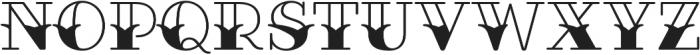Fairwater Sailor Serif otf (400) Font UPPERCASE