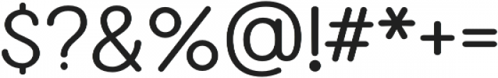 Fairwater Sans otf (700) Font OTHER CHARS