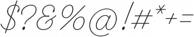 Fairwater Script otf (300) Font OTHER CHARS