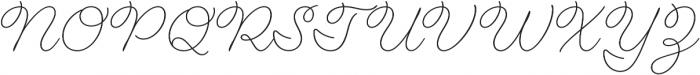 Fairwater Script otf (300) Font UPPERCASE