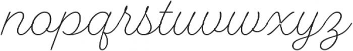 Fairwater Script otf (300) Font LOWERCASE
