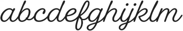 Fairwater Script otf (400) Font LOWERCASE
