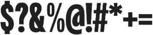 Fairweather Black otf (900) Font OTHER CHARS