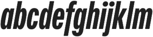 Fairweather Heavy Italic otf (800) Font LOWERCASE