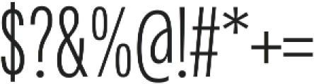 Fairweather Light otf (300) Font OTHER CHARS
