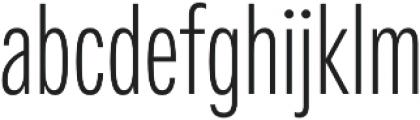 Fairweather Light otf (300) Font LOWERCASE