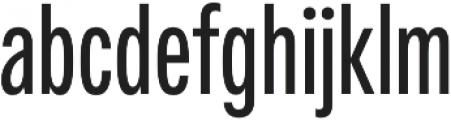 Fairweather SemiBold otf (600) Font LOWERCASE
