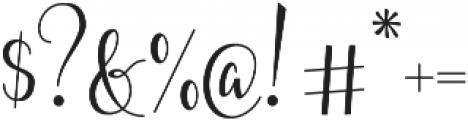 Fairybells Script otf (400) Font OTHER CHARS