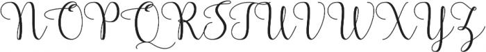 Fairybells Script otf (400) Font UPPERCASE