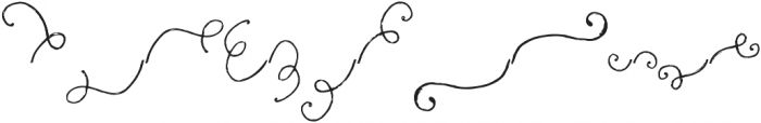 Fairytales Script Swashes otf (400) Font UPPERCASE