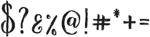 Fairytales Script otf (400) Font OTHER CHARS