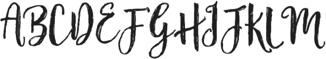 Fairytales Script otf (400) Font UPPERCASE