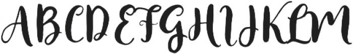 Faither Modern Brush Medium otf (500) Font UPPERCASE