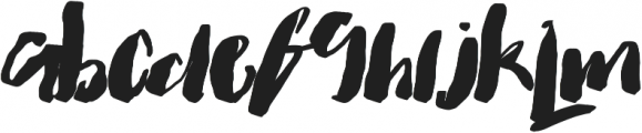 Faithful & True otf (400) Font UPPERCASE