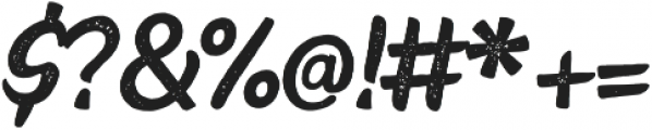 Faito Rough otf (400) Font OTHER CHARS