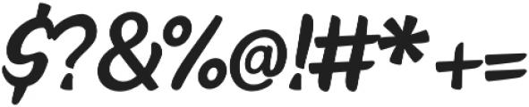 Faito otf (400) Font OTHER CHARS