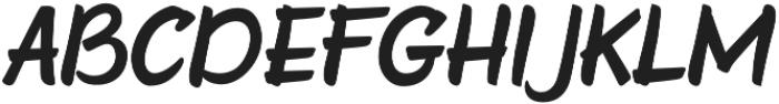Faito otf (400) Font UPPERCASE
